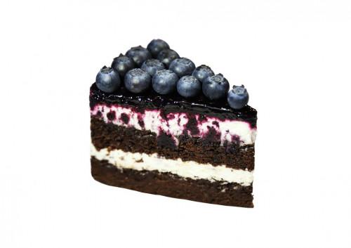 Торт с голубикой
